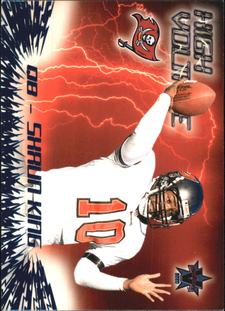 2000 Vanguard High Voltage #35 Shaun King