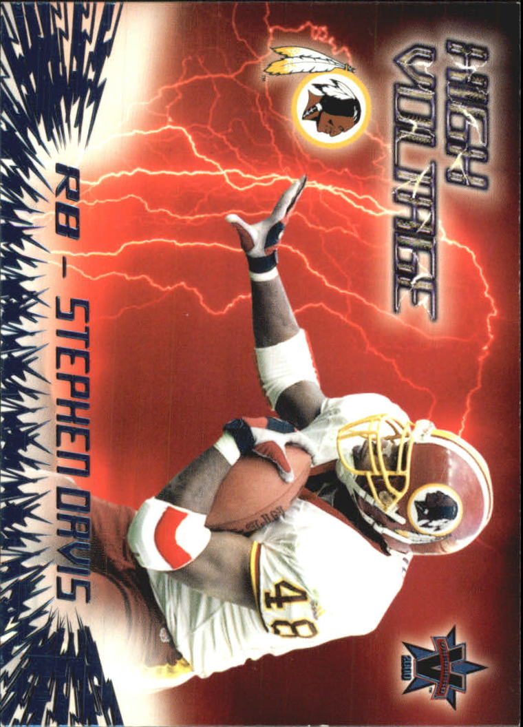 2000 Vanguard High Voltage #36 Stephen Davis
