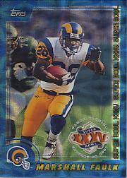 2001 Topps Super Bowl XXXV Card Show #3 Marshall Faulk