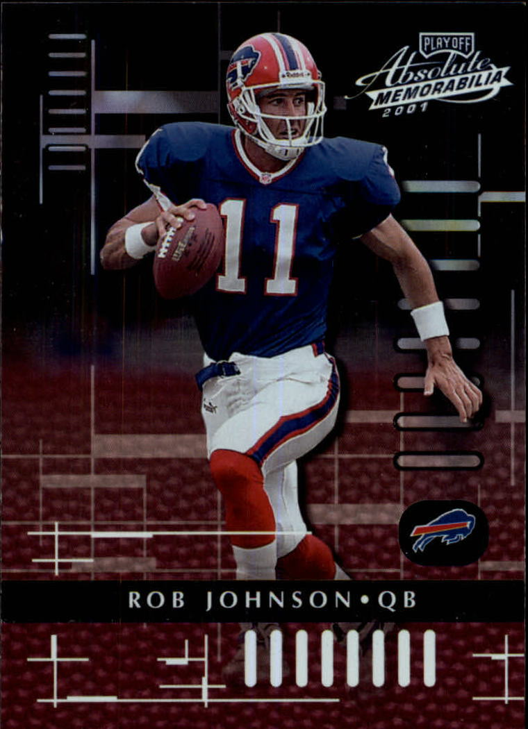2001 Absolute Memorabilia #14 Rob Johnson