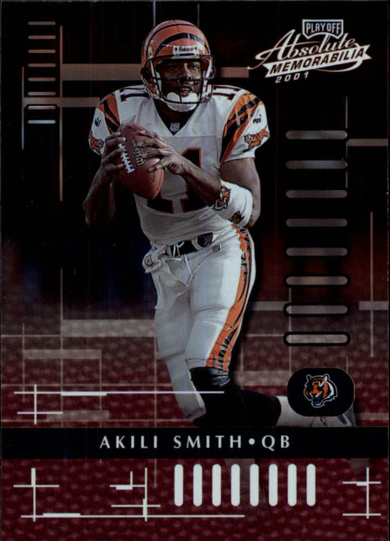 2001 Absolute Memorabilia #19 Akili Smith