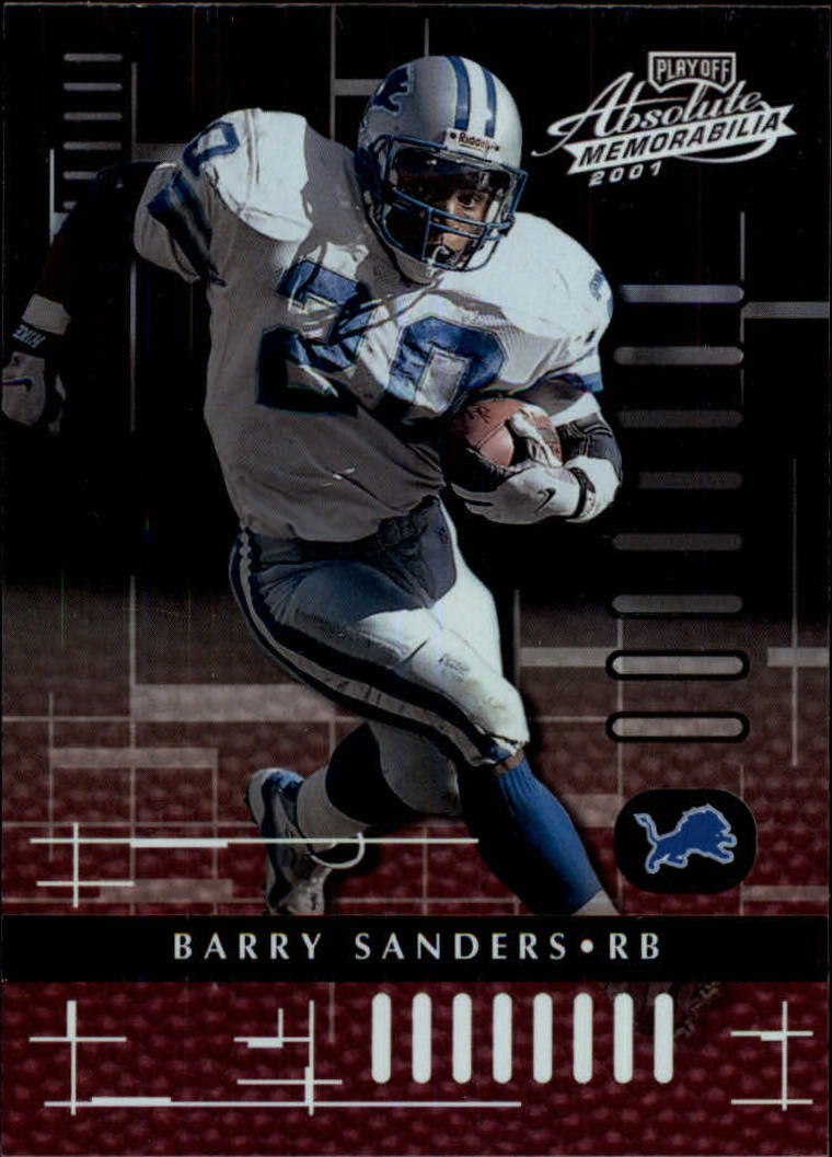 2001 Absolute Memorabilia #32 Barry Sanders