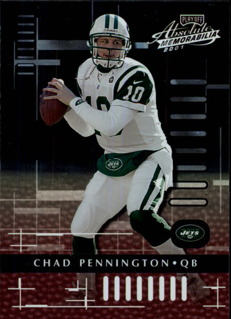 2001 Absolute Memorabilia #62 Chad Pennington