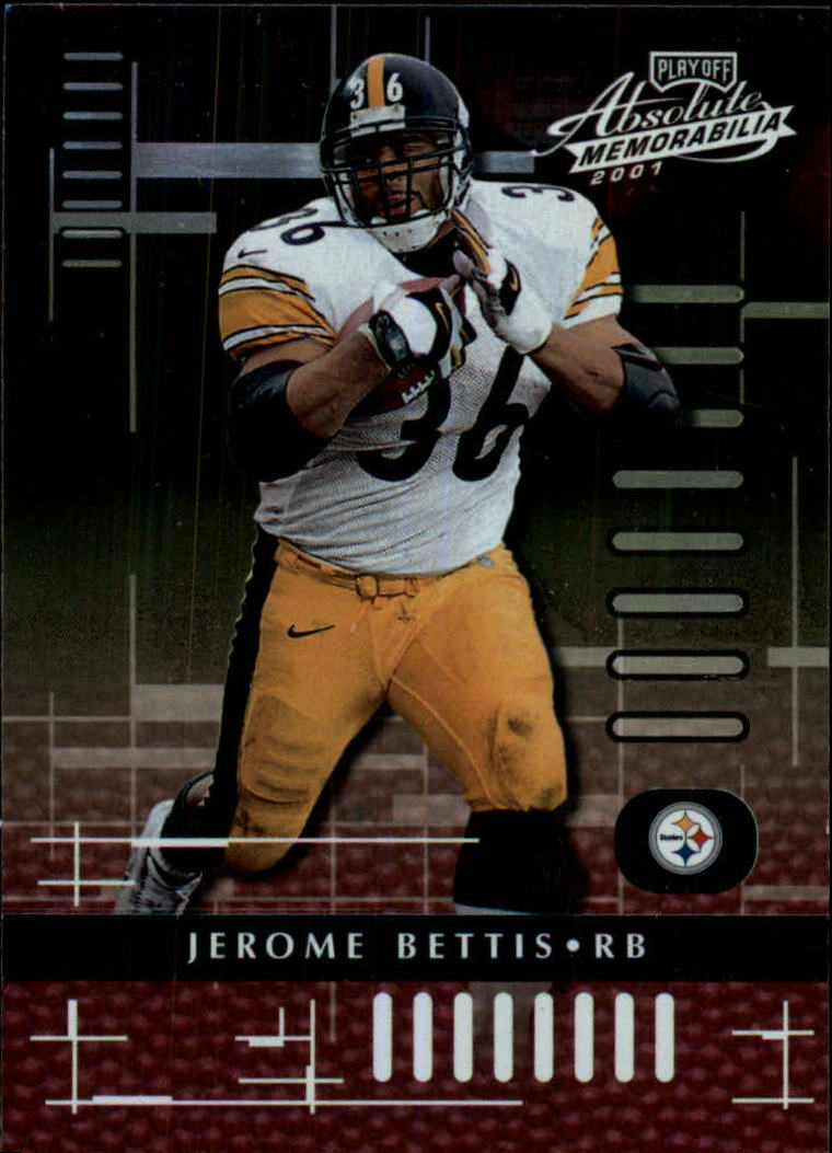 2001 Absolute Memorabilia #74 Jerome Bettis