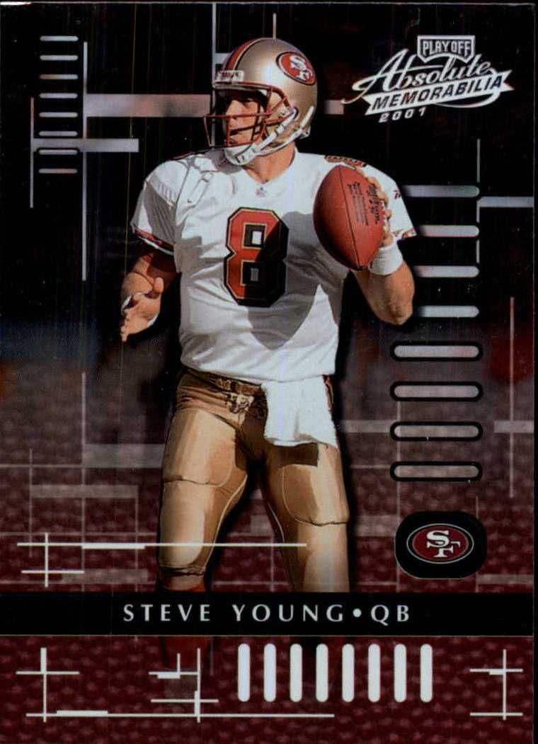 2001 Absolute Memorabilia #81 Steve Young