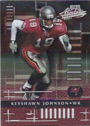 2001 Absolute Memorabilia #91 Keyshawn Johnson