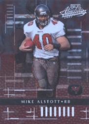 2001 Absolute Memorabilia #92 Mike Alstott