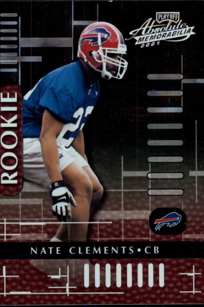 2001 Absolute Memorabilia #117 Nate Clements RC