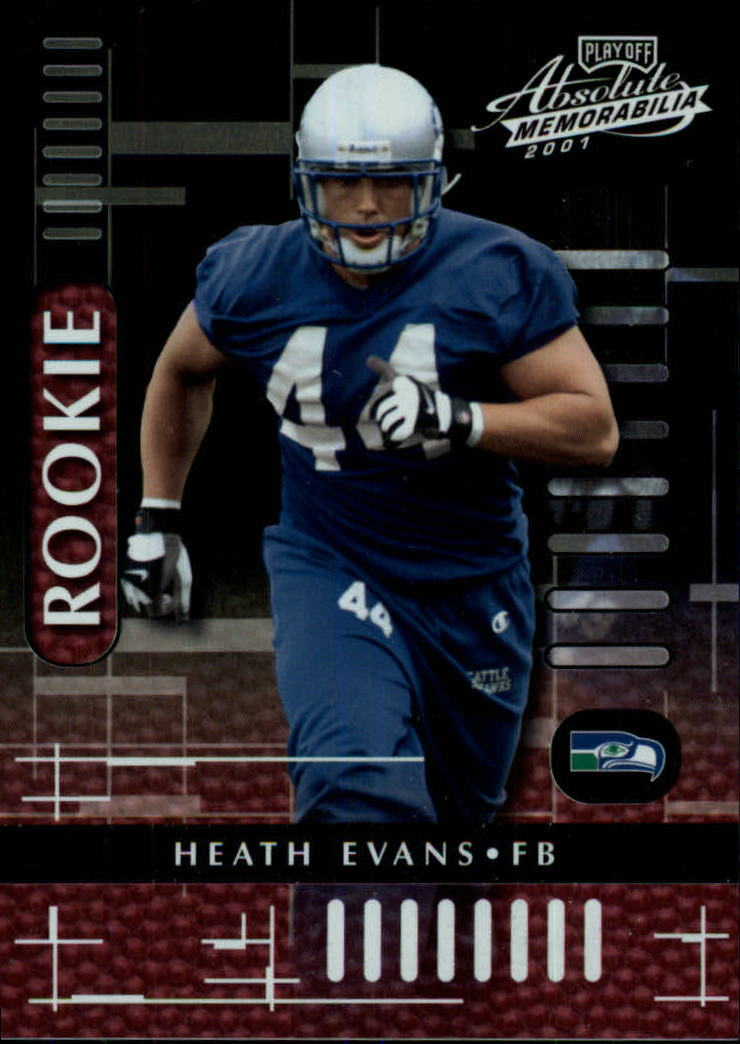 2001 Absolute Memorabilia #121 Heath Evans RC