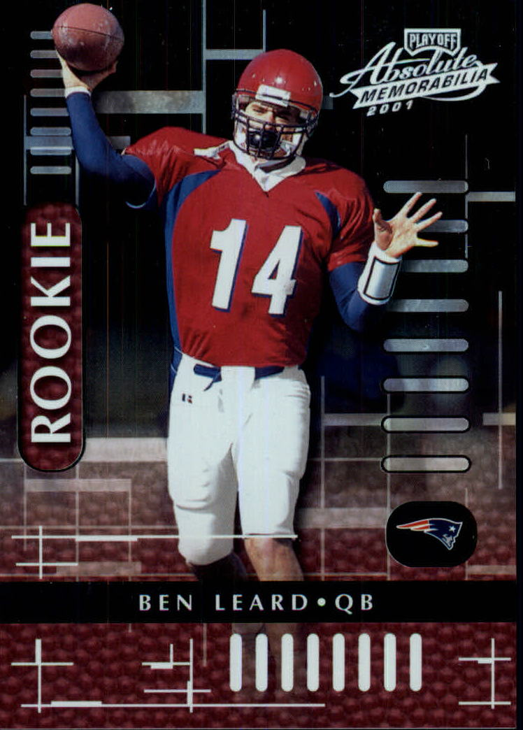 2001 Absolute Memorabilia #123 Ben Leard RC