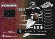 2001 Absolute Memorabilia #151 Michael Vick RPM RC