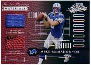 2001 Absolute Memorabilia #155 Mike McMahon RPM RC