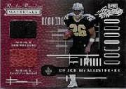 2001 Absolute Memorabilia #156 Deuce McAllister RPM RC