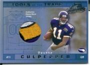 2001 Absolute Memorabilia Tools of the Trade #TT6 Daunte Culpepper JSY