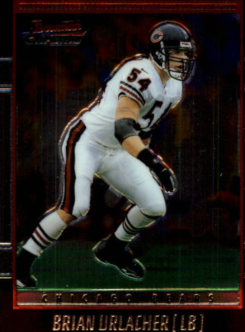 2001 Bowman Chrome #61 Brian Urlacher