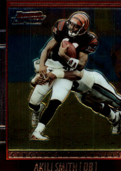 2001 Bowman Chrome #71 Akili Smith front image
