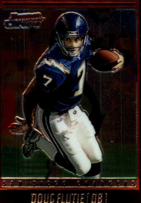 2001 Bowman Chrome #90 Doug Flutie