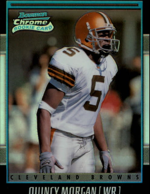 2001 Bowman Chrome #186 Quincy Morgan RC