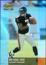 2001 Bowman's Best #125 Michael Vick RC