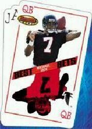2001 Bowman's Best Bets #BB2 Michael Vick