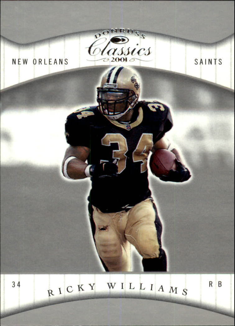 2001 Donruss Classics #54 Ricky Williams