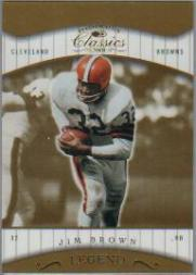 2001 Donruss Classics #159 Jim Brown