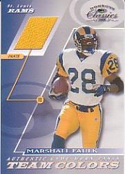 2001 Donruss Classics Team Colors #TC10 Marshall Faulk Pants