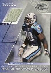 2001 Donruss Classics Team Colors #TC17 Jevon Kearse Pants