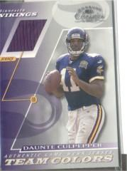 2001 Donruss Classics Team Colors #TC24 Daunte Culpepper
