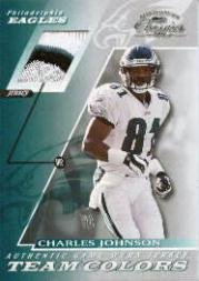 2001 Donruss Classics Team Colors #TC45 Charles Johnson