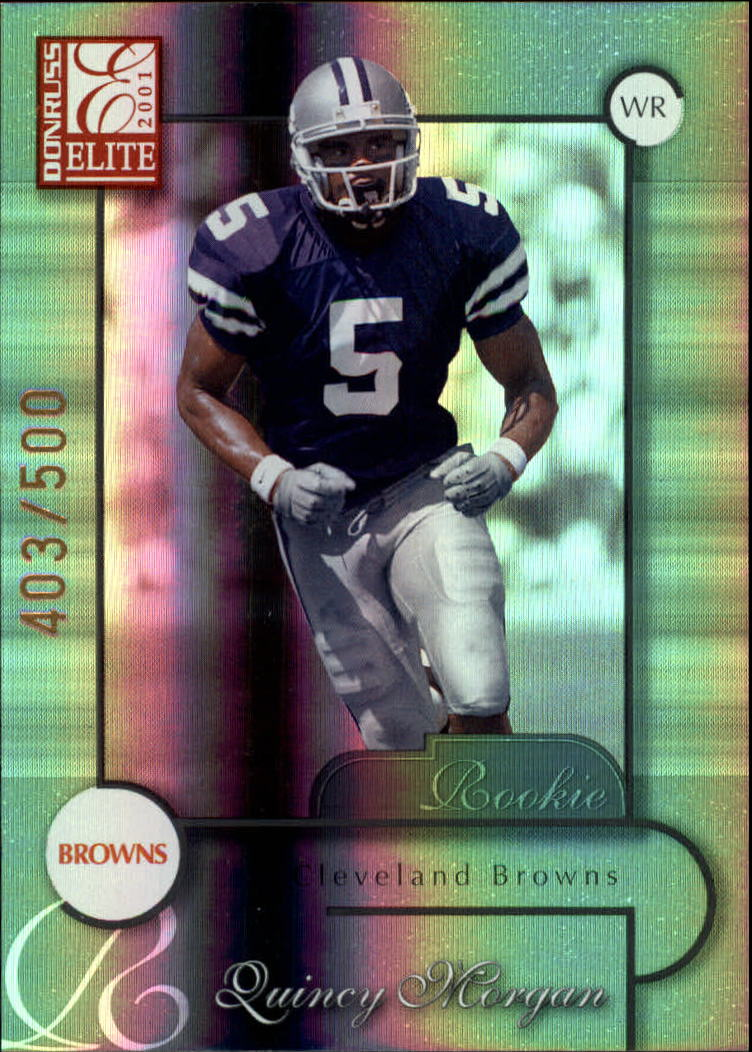 2001 Donruss Elite #137 Quincy Morgan RC