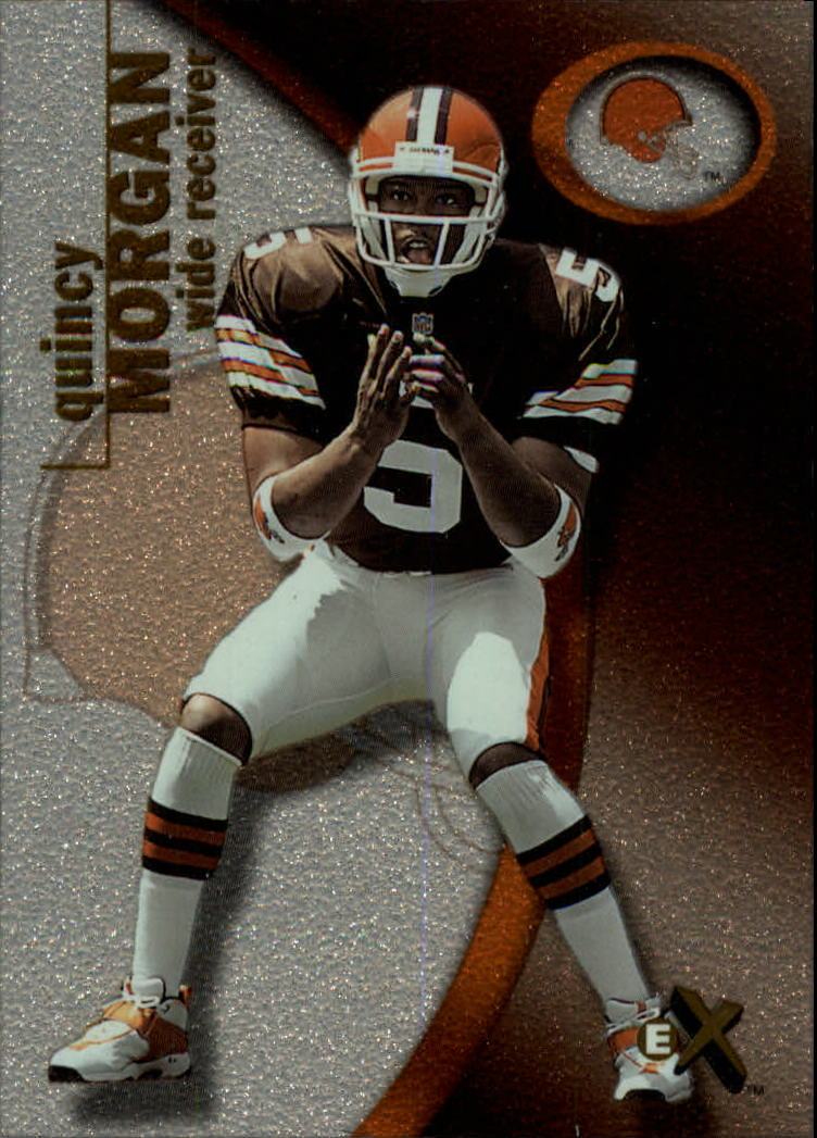 2001 E-X #119 Quincy Morgan/1250 RC