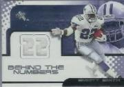 2001 E-X Behind the Numbers Jerseys #22 Emmitt Smith/778