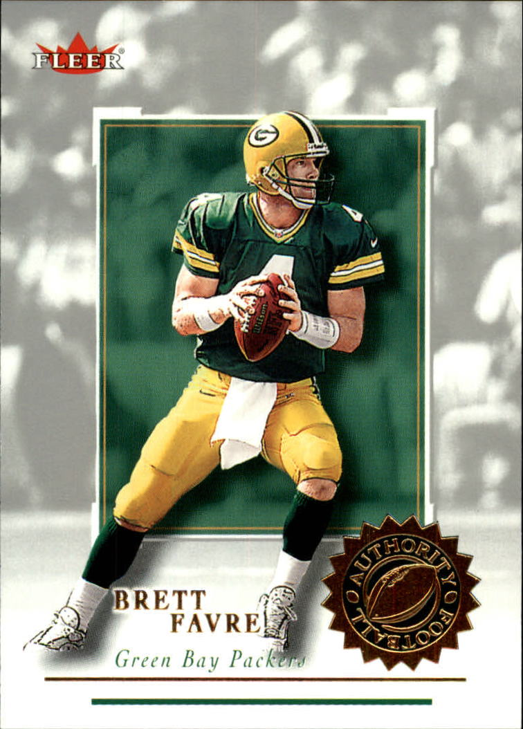 2001 Fleer Authority #11 Brett Favre