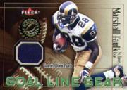 2001 Fleer Authority Goal Line Gear #12 Marshall Faulk Pants/175