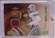 2001 Fleer Authority Goal Line Gear #45 Emmitt Smith FB/200