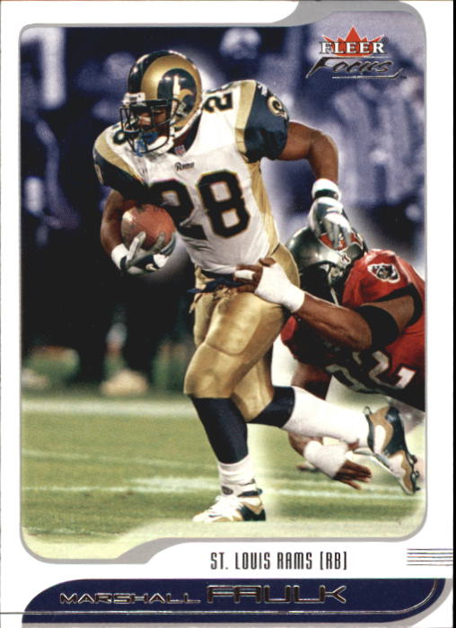 2001 Fleer Focus #1 Marshall Faulk