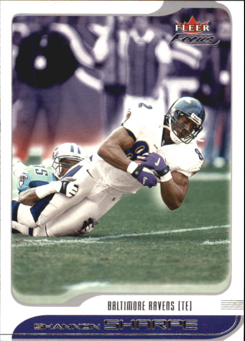 2001 Fleer Focus #6 Shannon Sharpe