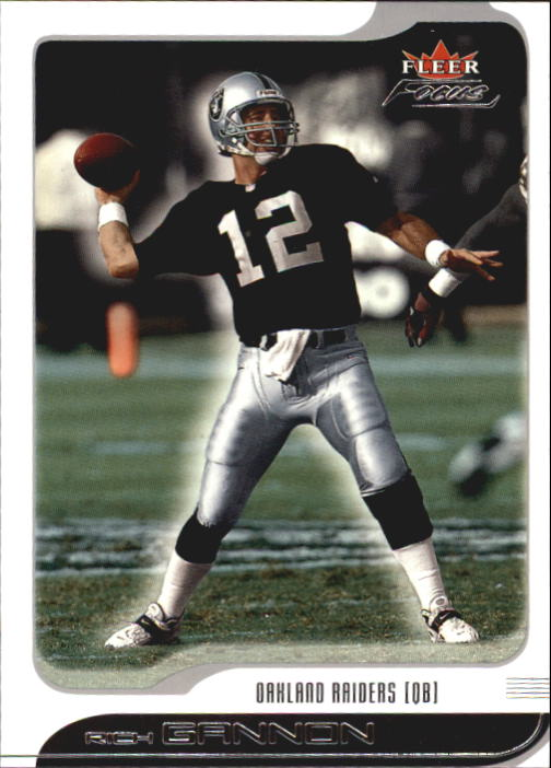 2001 Fleer Focus #10 Rich Gannon