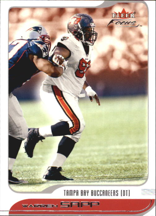 2001 Fleer Focus #12 Warren Sapp