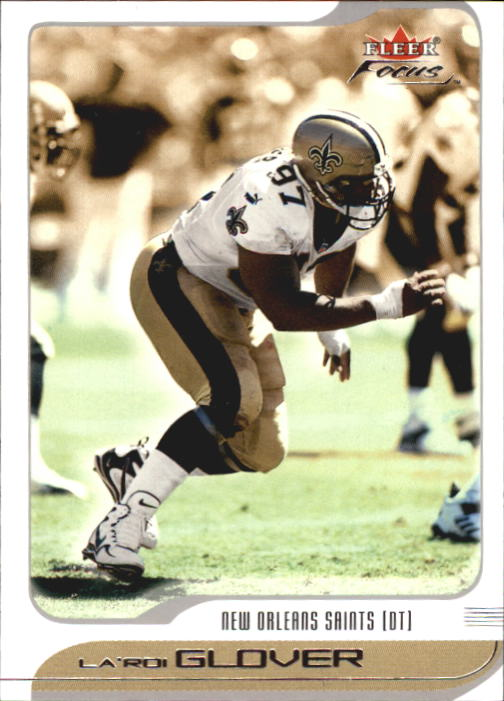 2001 Fleer Focus #13 La'Roi Glover