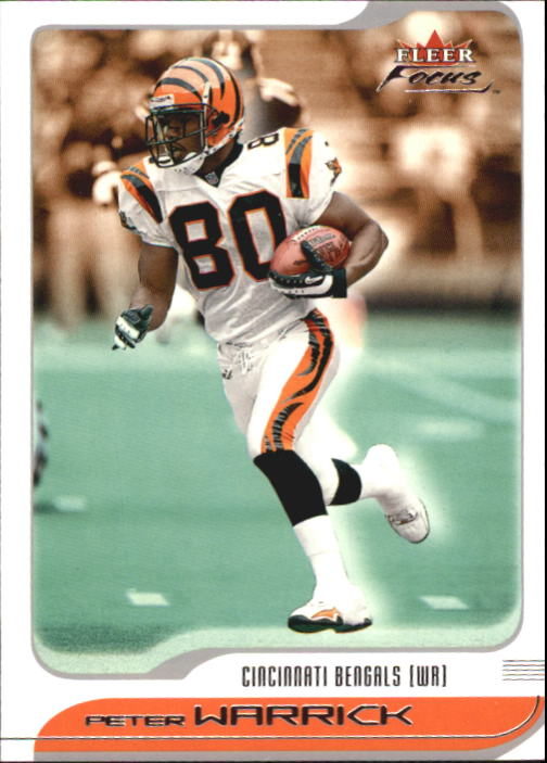 2001 Fleer Focus #14 Peter Warrick