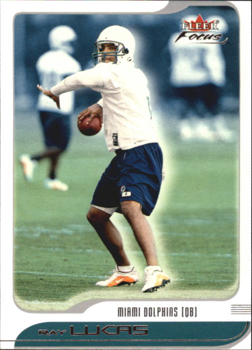 2001 Fleer Focus #16 Ray Lucas
