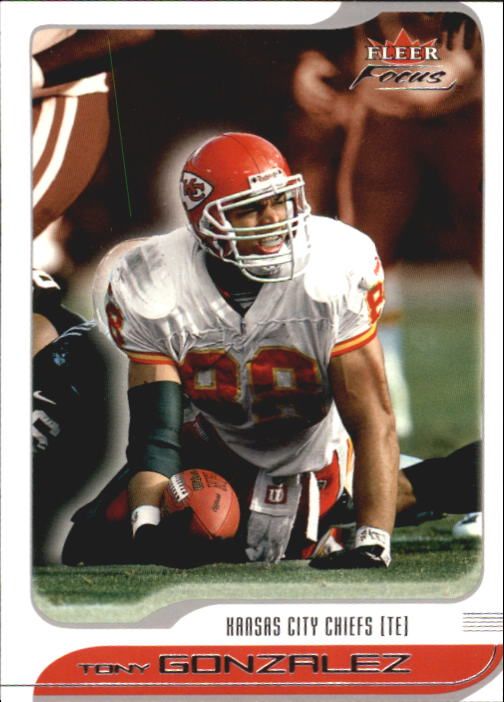 2001 Fleer Focus #21 Tony Gonzalez
