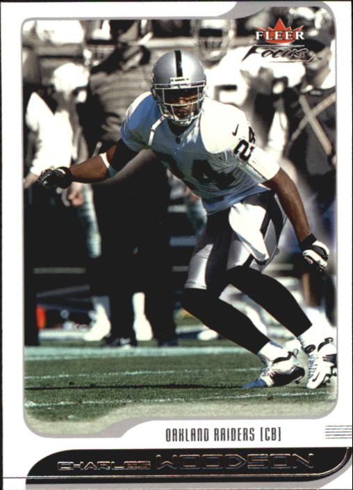 2001 Fleer Focus #24 Charles Woodson