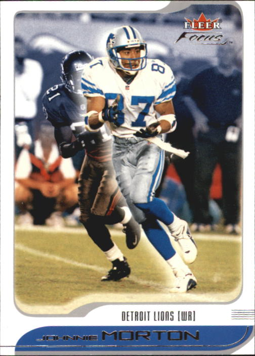 2001 Fleer Focus #25 Johnnie Morton