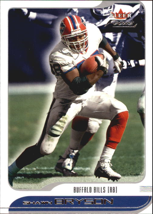 2001 Fleer Focus #34 Shawn Bryson