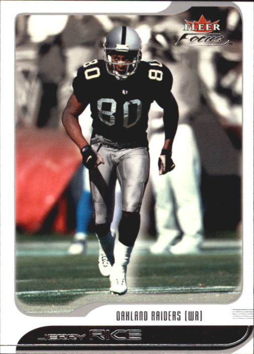 2001 Fleer Focus #35 Jerry Rice