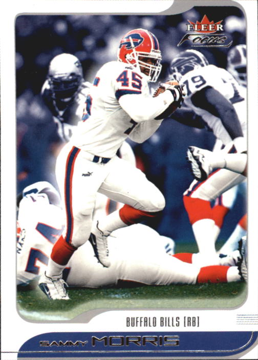2001 Fleer Focus #37 Sammy Morris