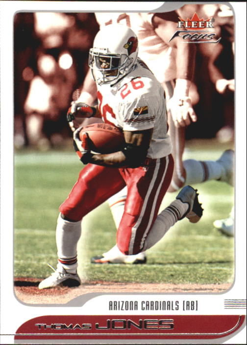 2001 Fleer Focus #40 Thomas Jones